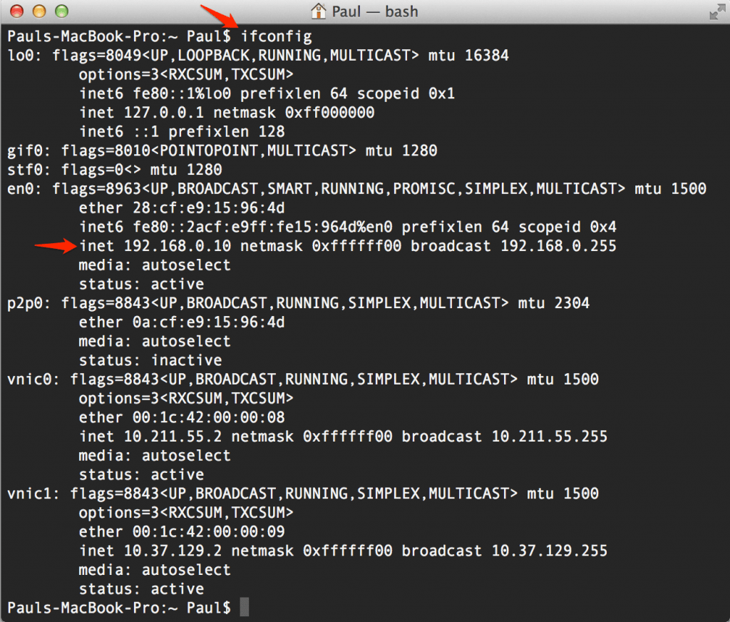 Obtain MAC Address from network printer via CMD - Super User